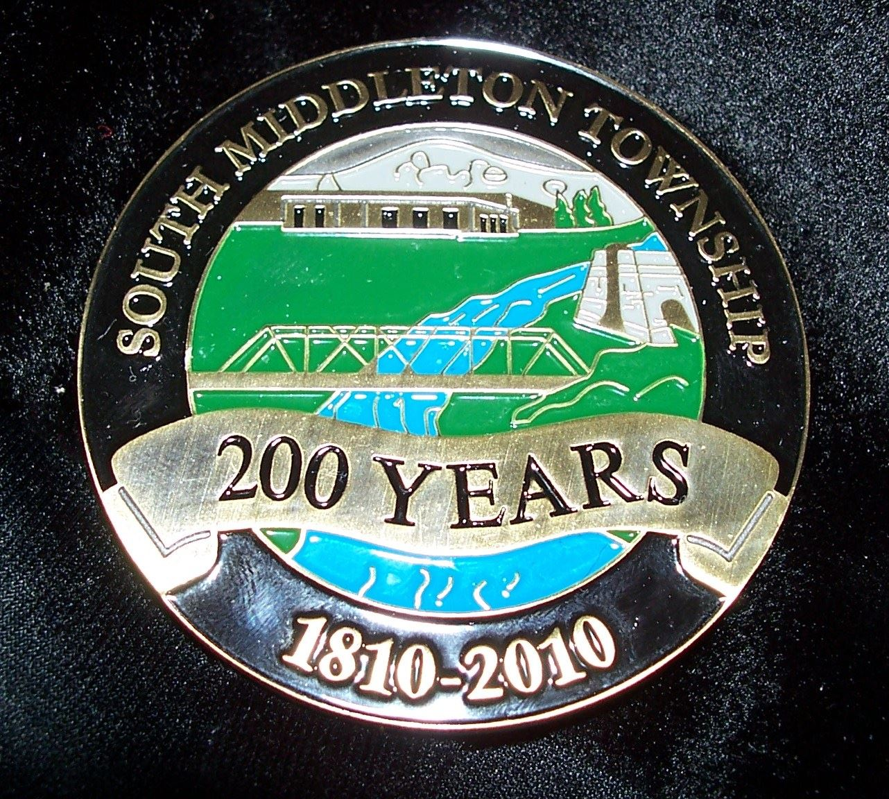 South Middleton Bicentennial Coin